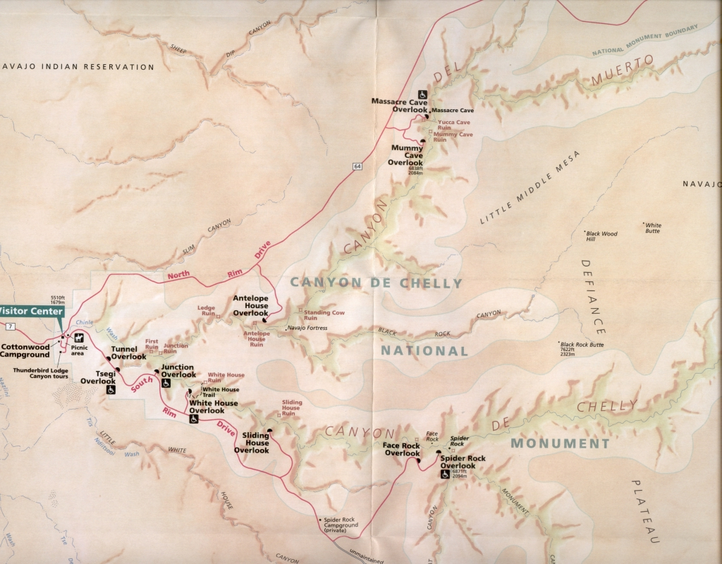Map Of Arizona Indian Ruins.Arizona