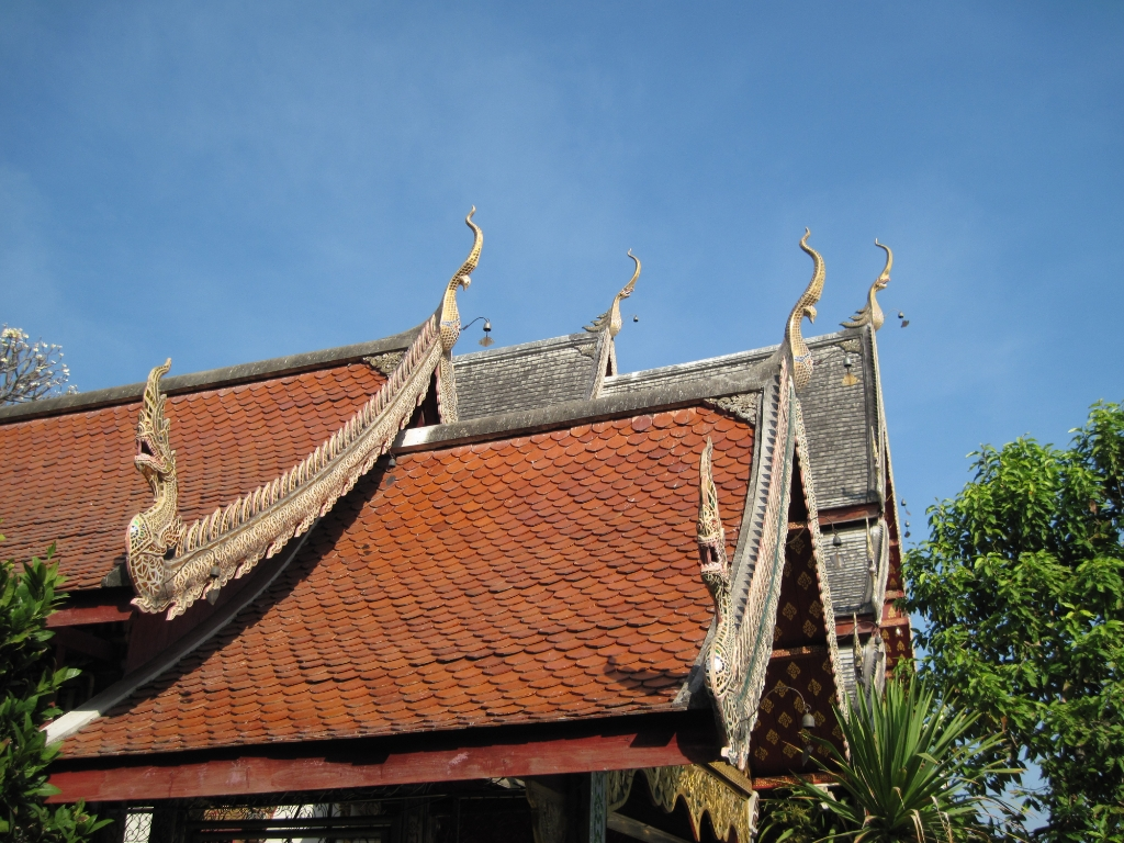 Thailand 2009 chiang mai wat chiang mun m img 0126 for Wat architecture